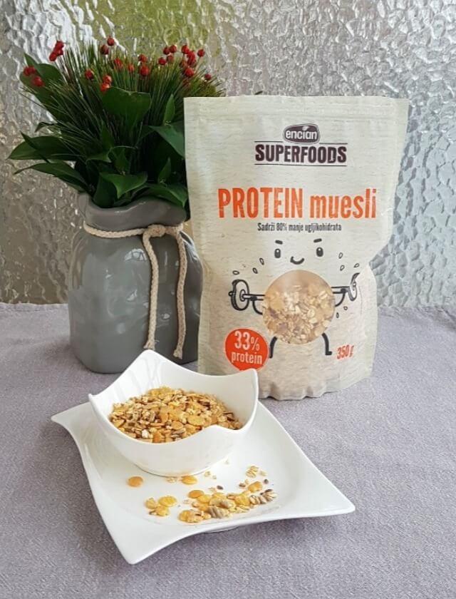 encian superfoods protein musli