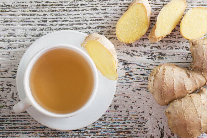 žgaravica čaj đumbir