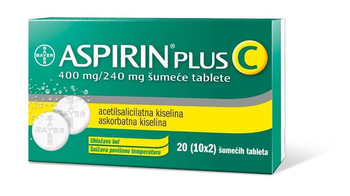 Aspirin Plus C šumeće tablete