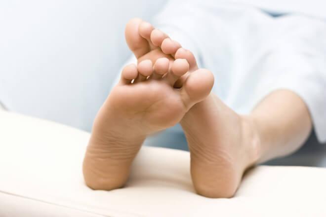 mravinjanje nogu
