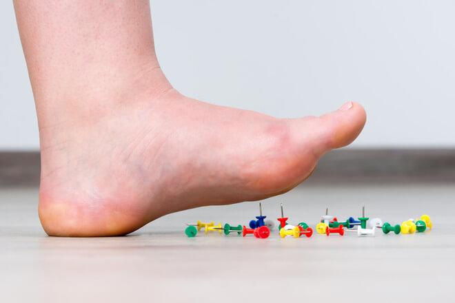 trnci u nogama