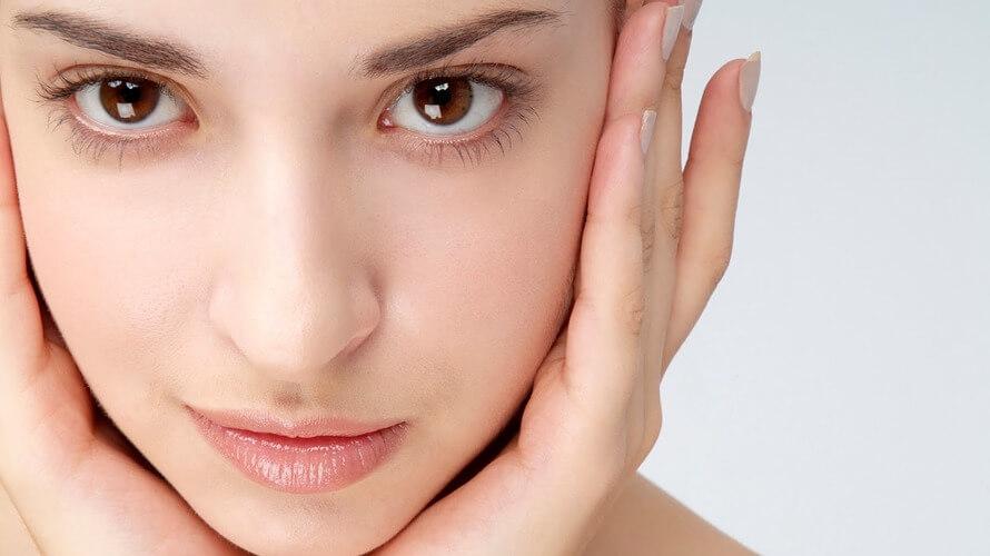 prirodni sjaj lica