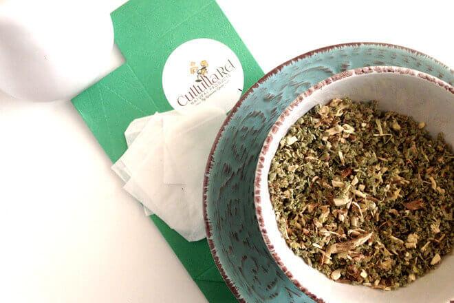dispepsija čaj od sljeza