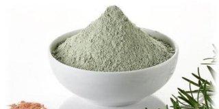 Ventilirana zelena glina za oralnu upotrebu