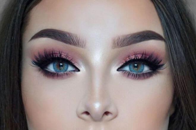 Plave oči - makeup
