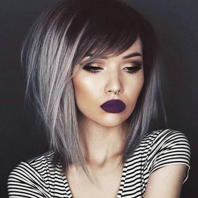 Sijeda kosa - makeup