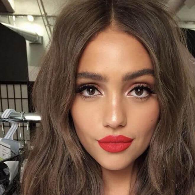 Smeđa kosa - makeup