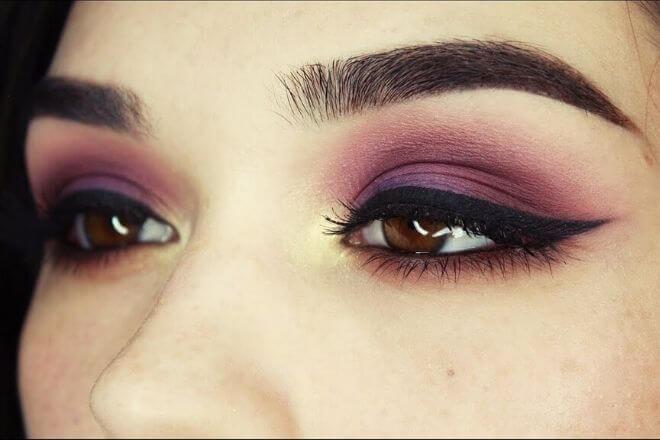Smeđe oči - makeup