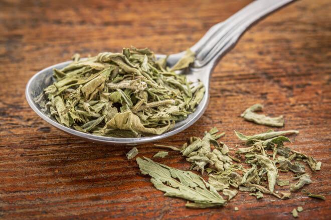 Suhi listovi stevije