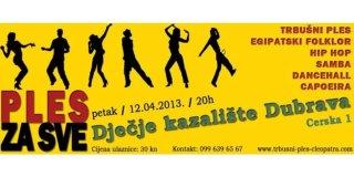 Najava: Plesna produkcija Ples za sve