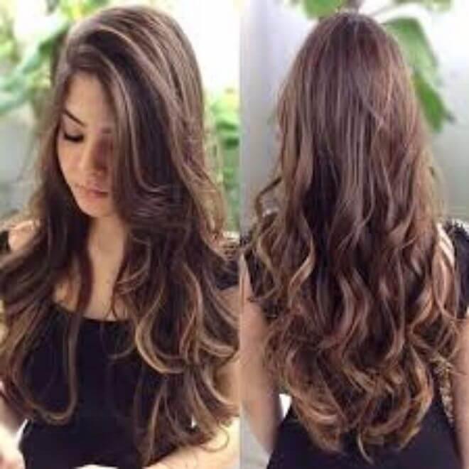 Duga stepenasta frizura