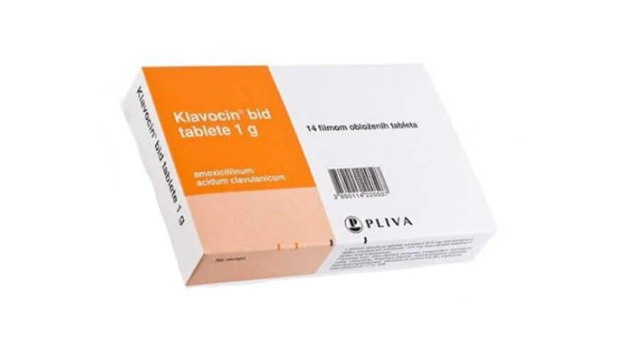 klavocin bid tablete