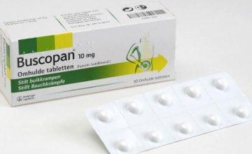 buscopan tablete