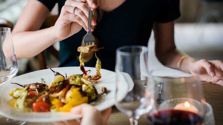 vegetarijanac u restoranu