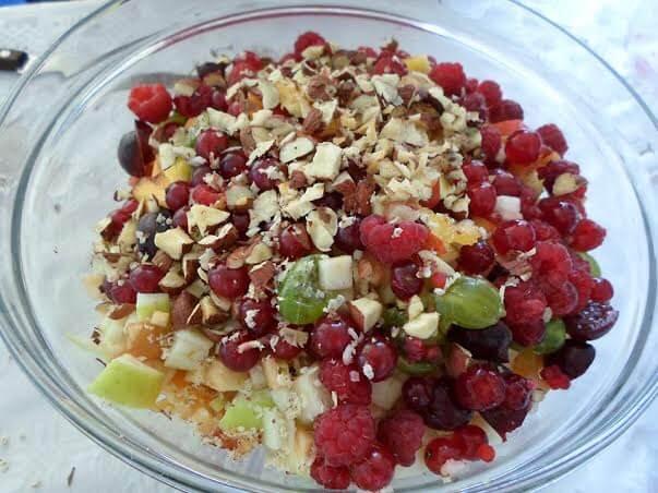 voćna čarolija vegetarijansko jelo