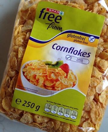 Cornflakes bez glutena iz Interspara, Free From