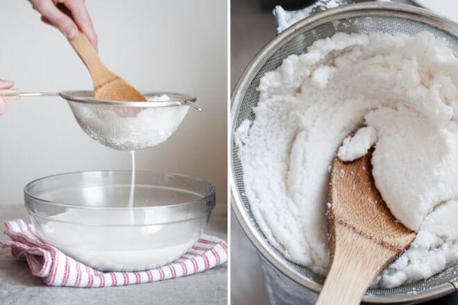 priprema kokosovog mlijeka