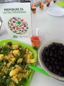 Preporuke za ljetnu prehranu