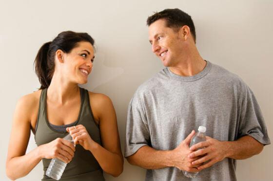 Vježbajte s partnerom
