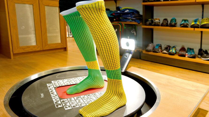 skener stopala