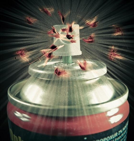 zika virus - sprej protiv komaraca