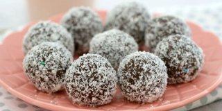 Zdrave čokoladne kuglice