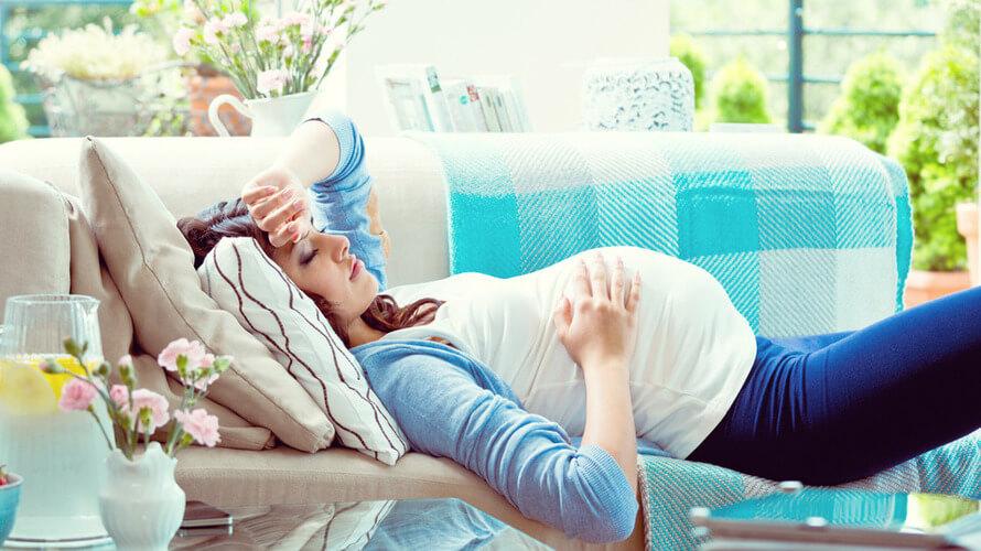 mucnina u trudnoci