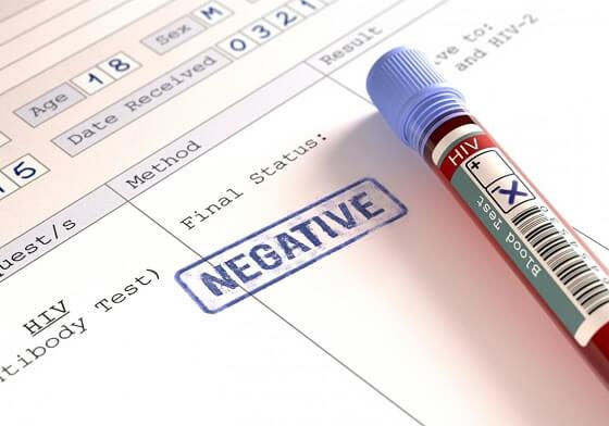 negativan-test