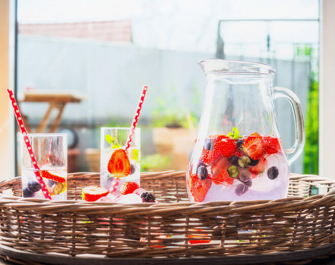 Osvježavajući voćni sok