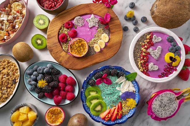 Zdjele s voćem