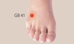 gb41 akupresurna tocka
