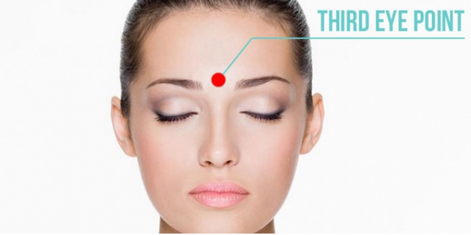 third eye point