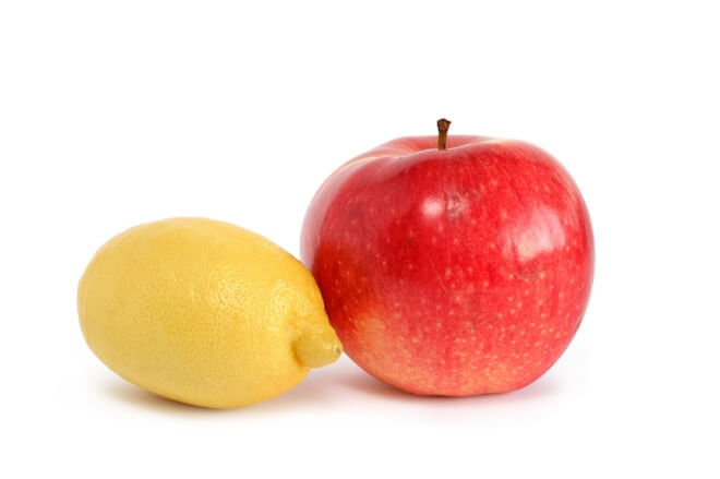 limun i jabuka