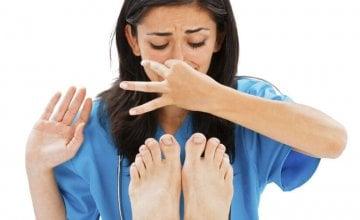 neugodan miris gljivice stopala