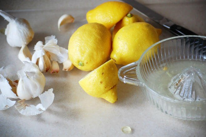 Limun i češnjak
