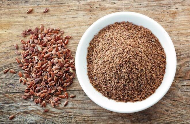 mljevene lanene sjemenke