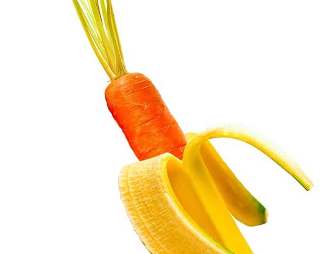 mrkva i banana