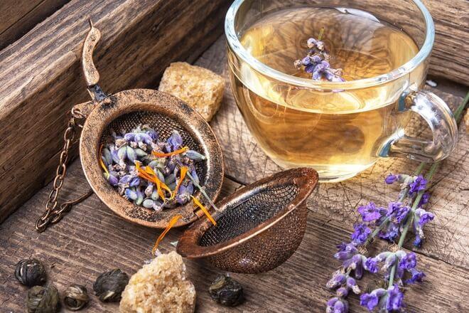 čaj od lavande priprema