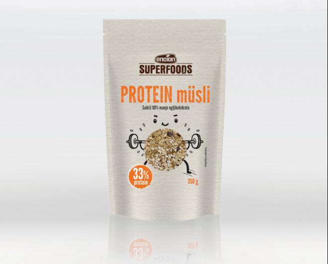 SuperFoods Encian proteinski musli