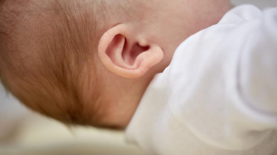 upala uha kod beba