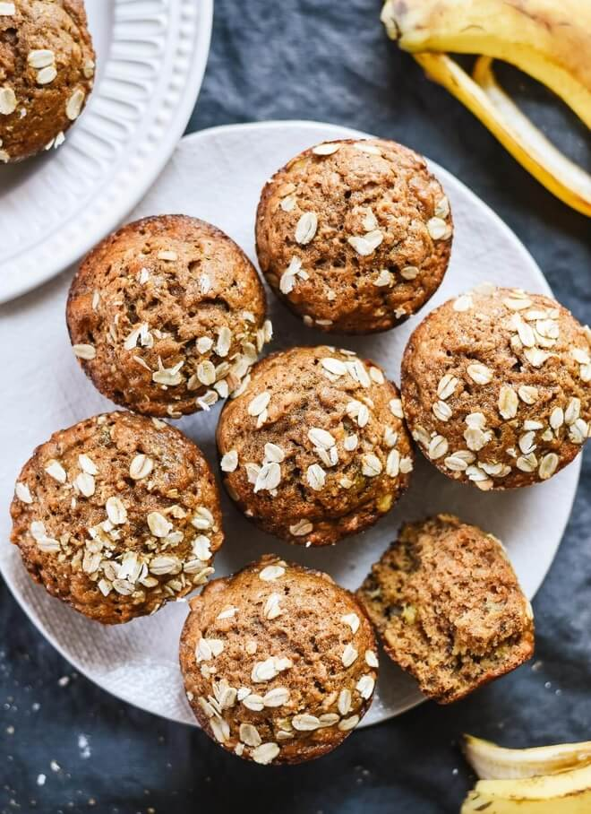 zdravi muffini s bananom