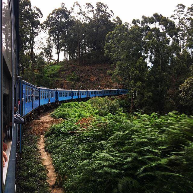Putovanje vlakom na relaciji Kandy - Ella