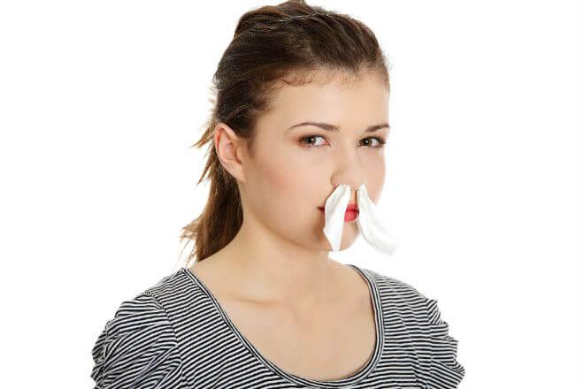 maramice u nosu