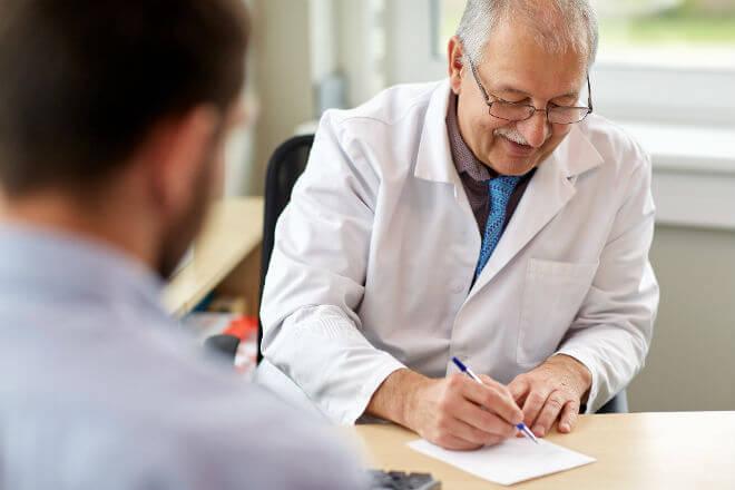 doktor i pacijent