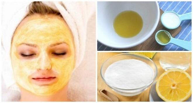 soda bikarbona i limun za lice