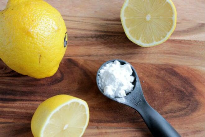 soda bikarbona limun