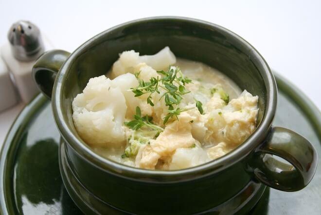 Varivo od cvjetače i krumpira