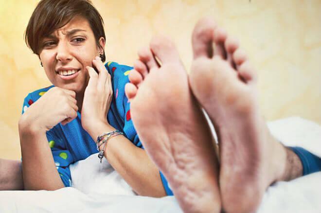 smrad nogu i znojenje