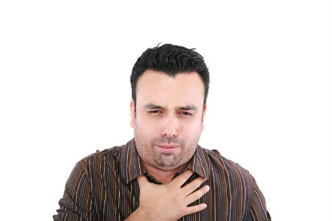 kašalj i gušenje