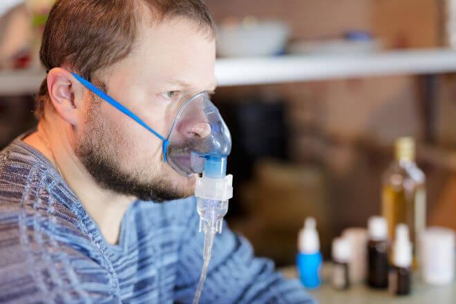 pacijent na kisiku